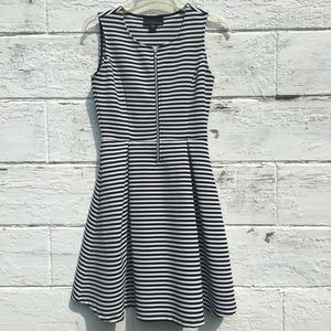 ✨ attention Black and White Striped Dress ✨